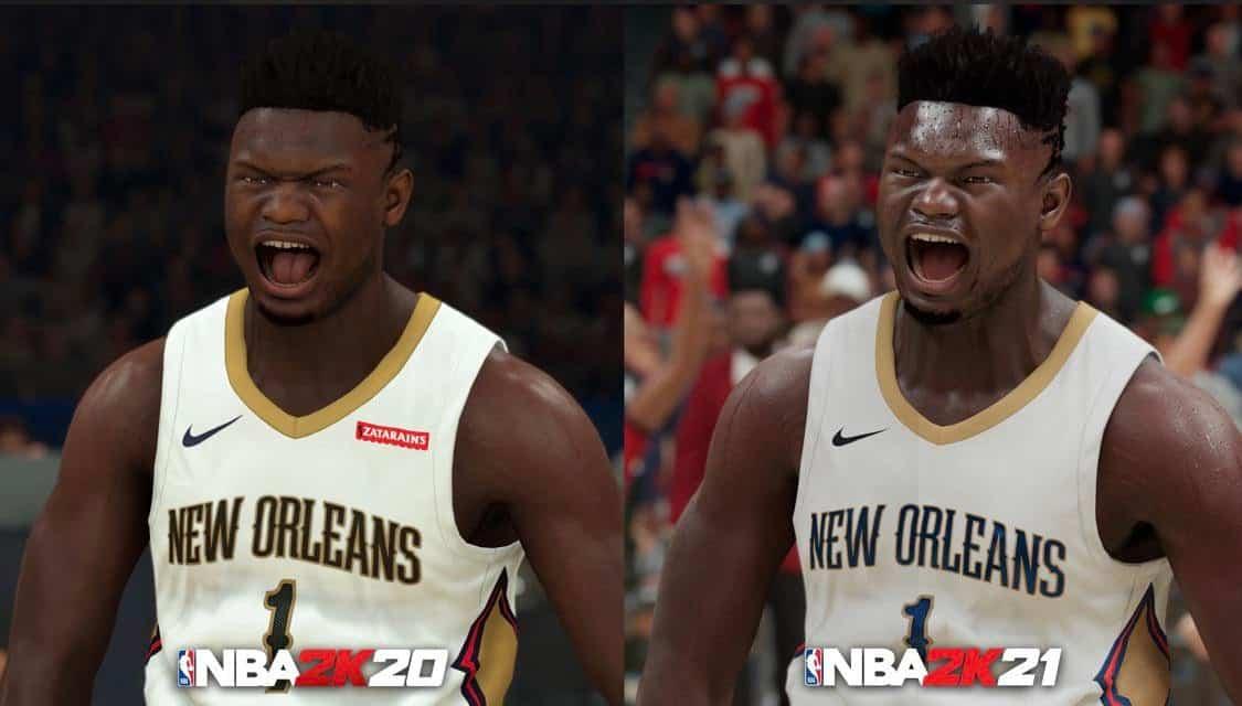 NBA2K21 vs NBA 2K20