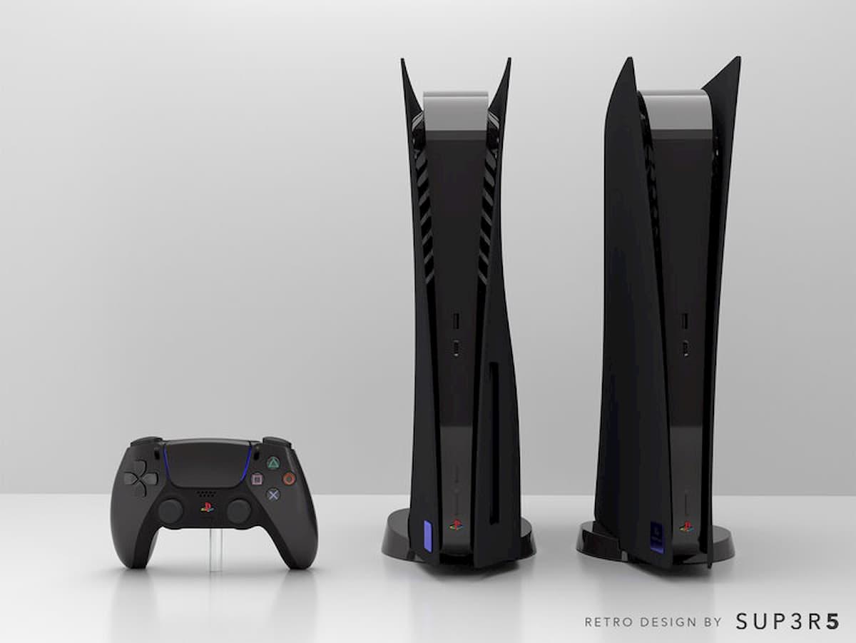 PS5 modele noir disponible