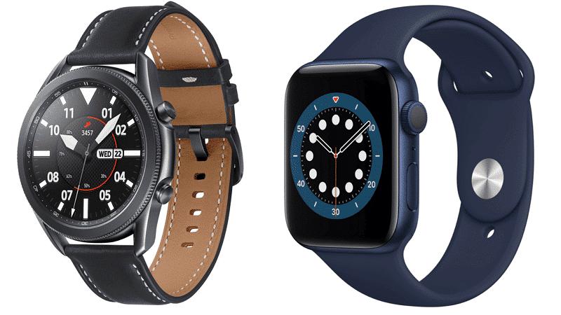 Apple Watch samsung watch active