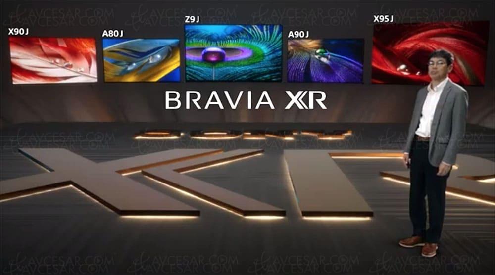 Bravia XR modèles 2021