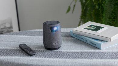 Le ZenBeam Latte : Un pico-projecteur Android présenté par Asus