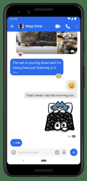 signal android whatsapp alternative