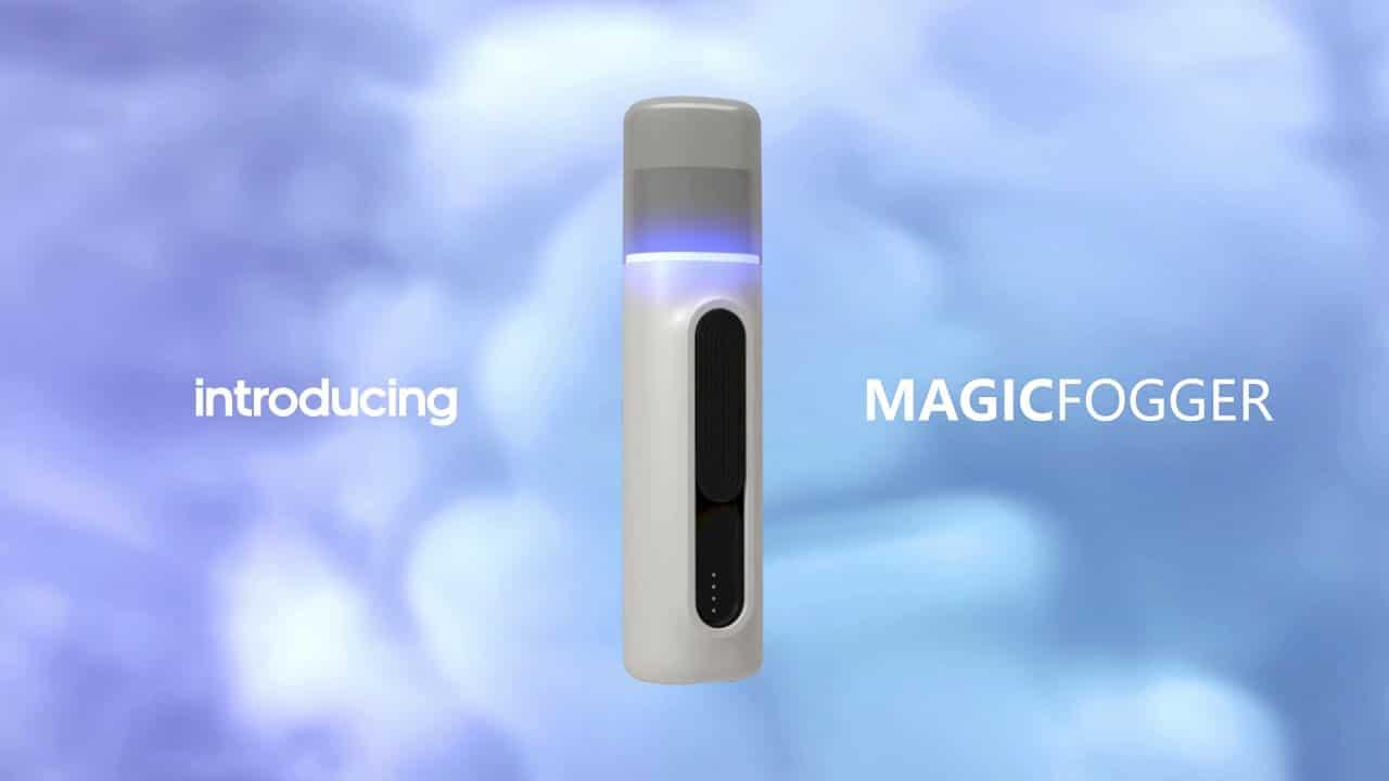 Le MagicFogger portable et antibactérien de Scosche Industrie