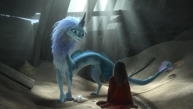 Raya et Sisu dans Raya et le Dernier Dragon (2021)