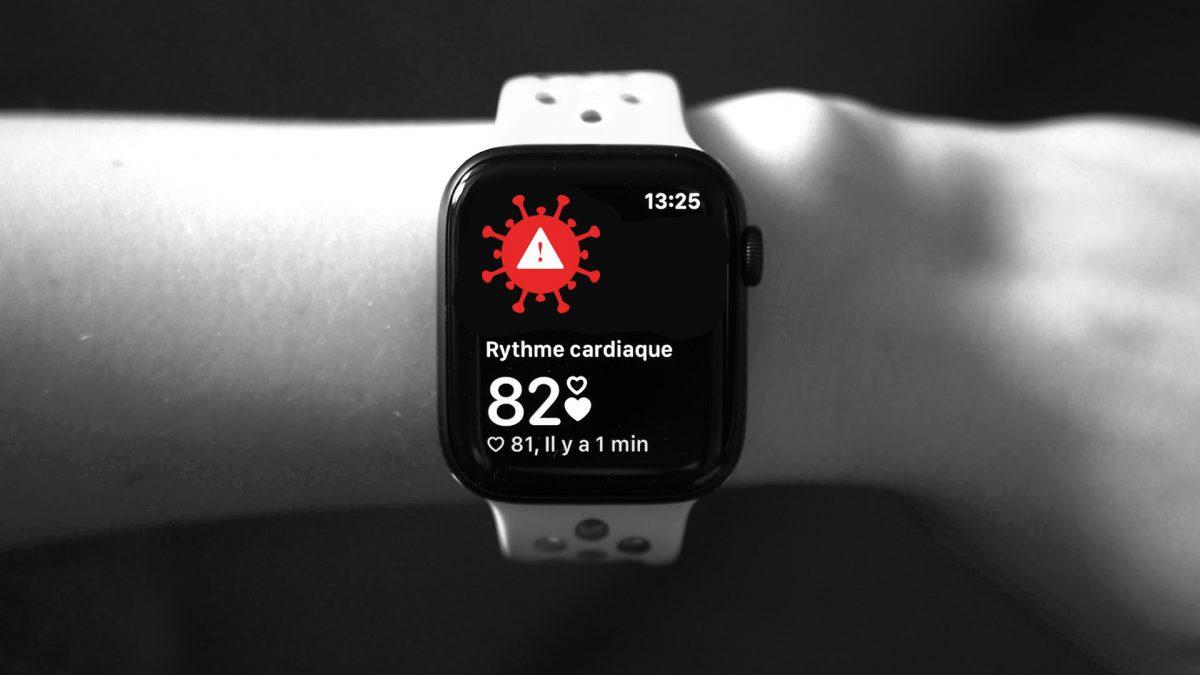 La montre intelligente d'Apple comme outil de détection avancé du COVID-19
