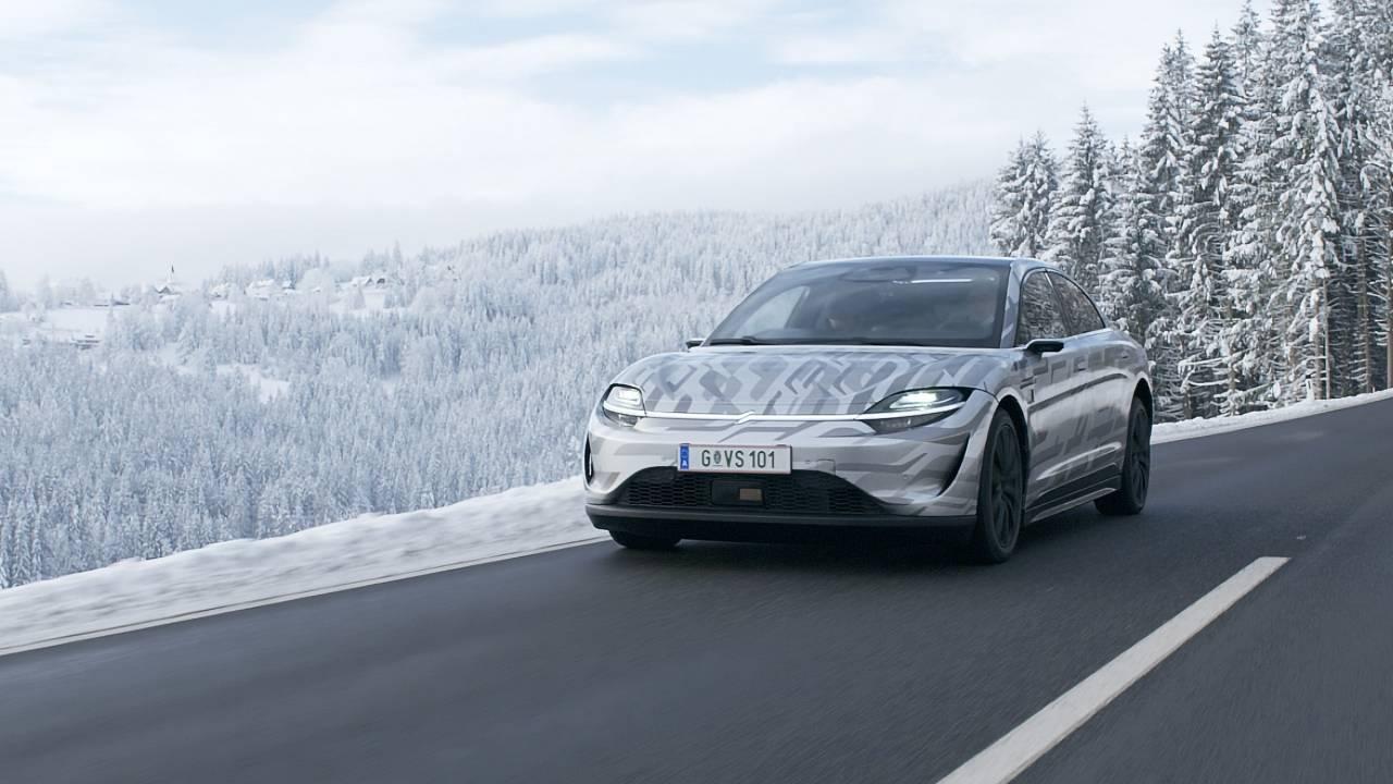 sony vision-s voiture electrique ces 2021