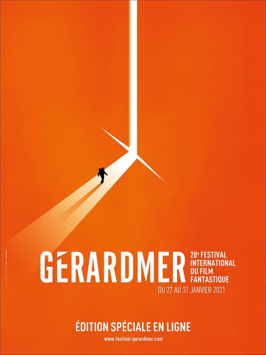 Affiche du Festival International du Film Fantastique de Gérardmer 2021