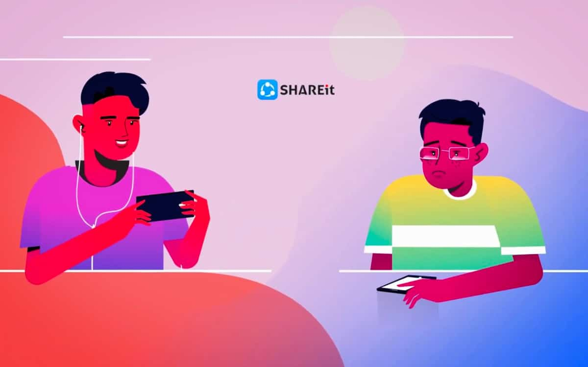 Android Shareit logo