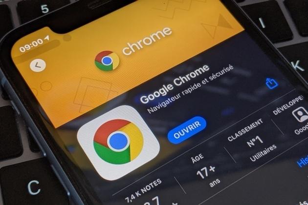 Google Chrome logo application