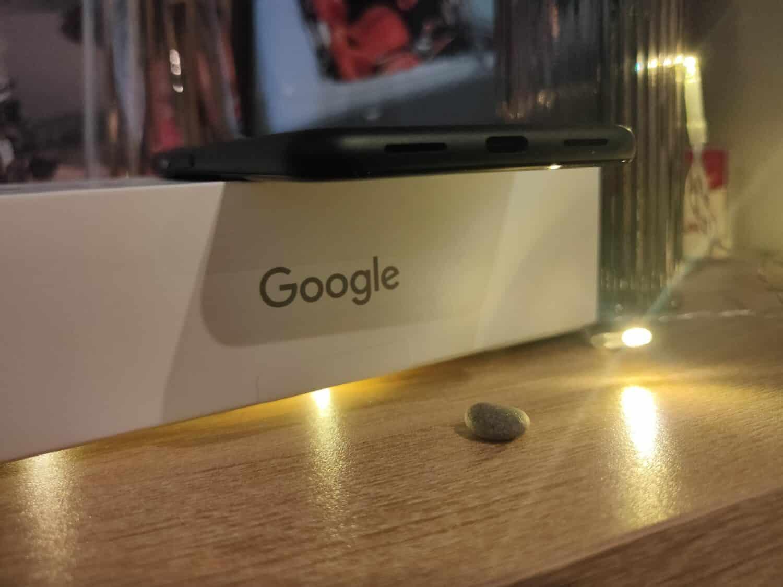Google Pixel 5 - Face inférieure