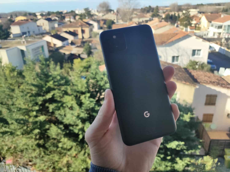 Google Pixel 5 - Face arrière