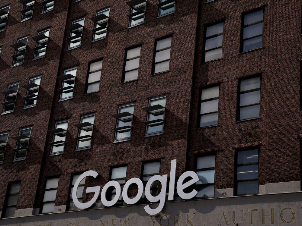 Google logo immeuble