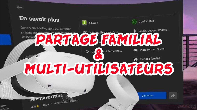 Oculus Quest 2 partage applications