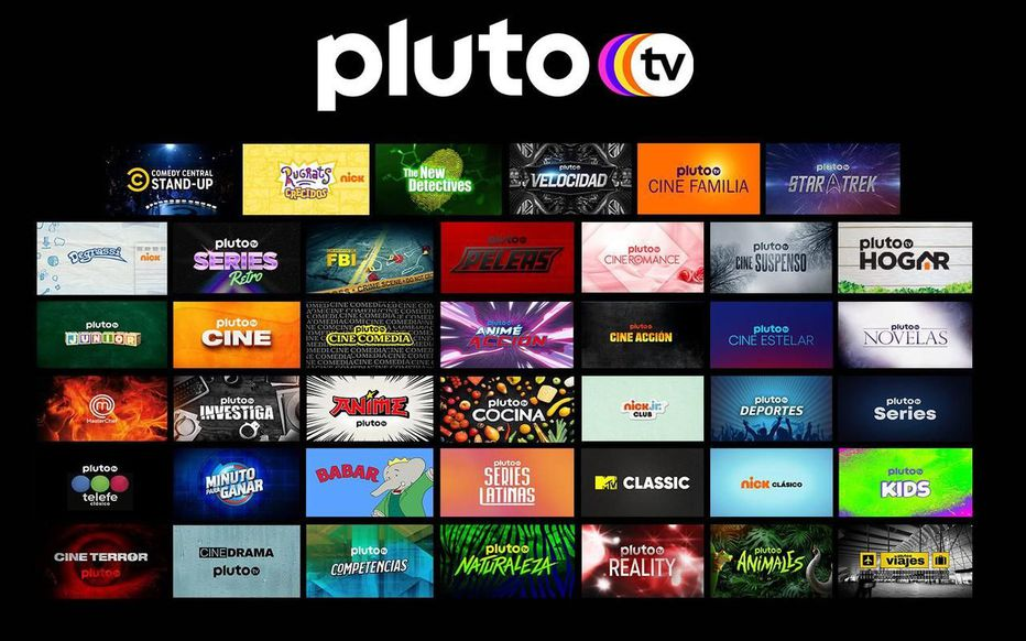 Pluto TV streaming