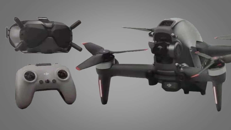 DJI FPV Combo : le drone se dévoile en vidéo