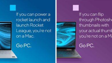 Intel critique les puces M1 d'Apple dans une publicité