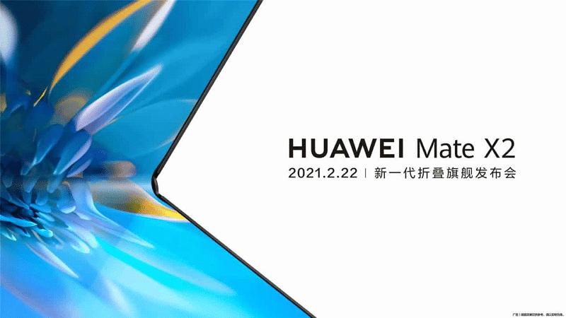 Le Huawei Mate X2 se plie vers l'intérieur