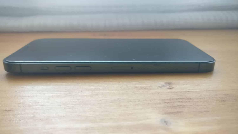 Tranche gauche iPhone 12 Pro Max