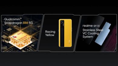 Realme GT présenté au MWC de Shanghai : la marque se lance dans le haut de gamme