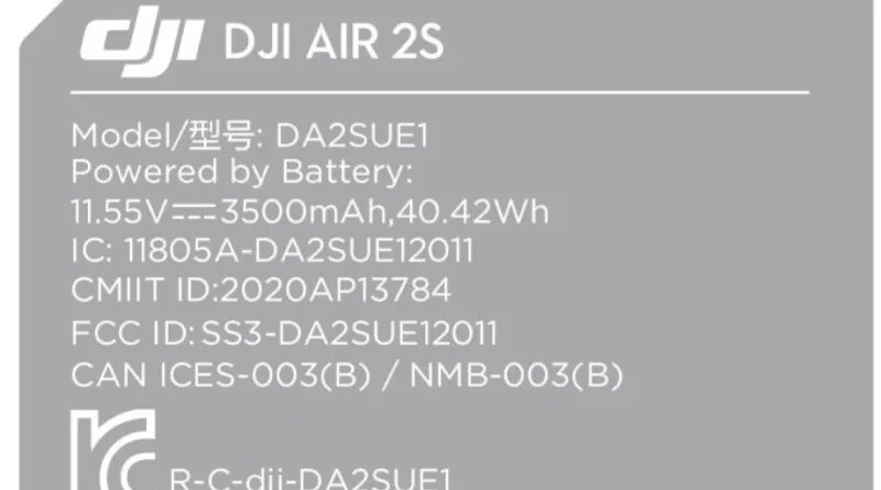 DJI Air 2S : une mise à jour du Mavic Air 2 pour avril ?