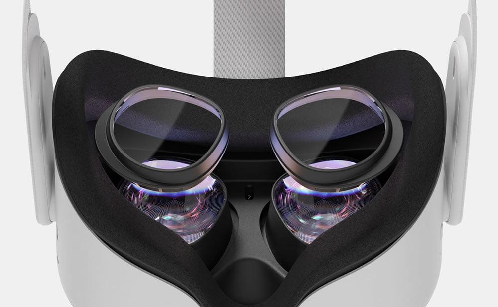 Oculus Quest 2 lentilles verres