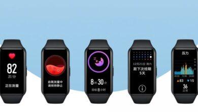 Huawei Band 6 dévoilé : le bracelet sport à petit prix