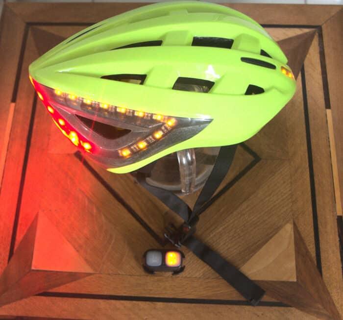 casque vélo lumos kickstart clignotant