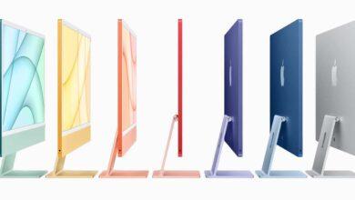Apple annonce un nouvel iMac 24 pouces, avec une puce M1 et un écran ultra-fin