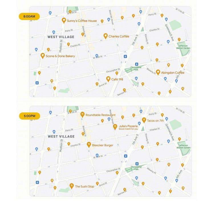 google-maps-carte-dynamique-journee