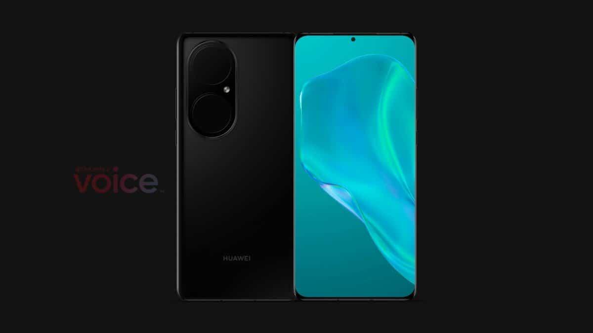 Fuite design Huawei P50
