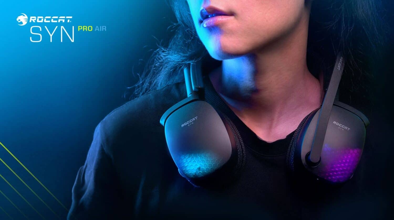 Roccat annonce un nouveau casque : le Syn Pro Air, avec un son 3D immersif