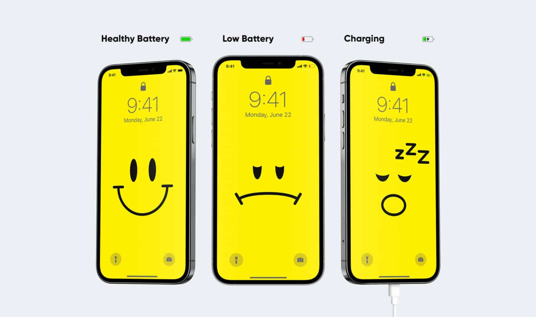 IPhone: fondos de pantalla dinámicos con nivel de batería