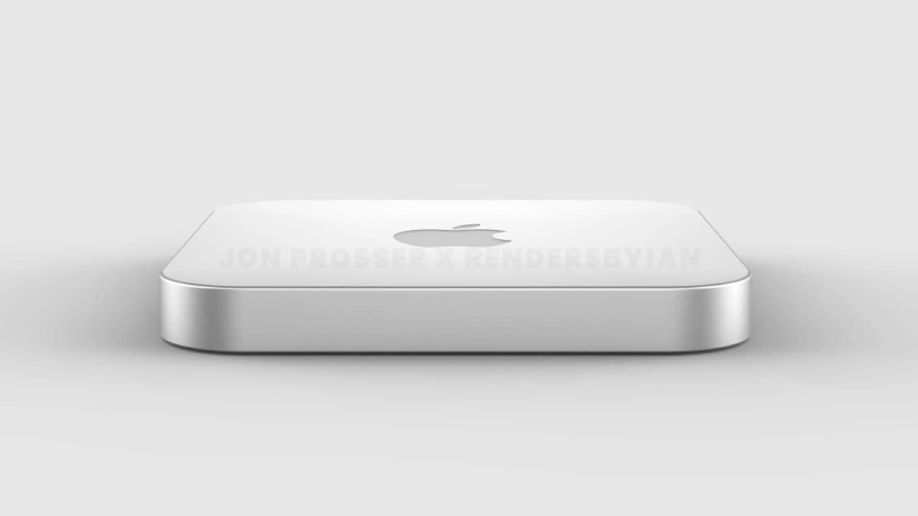 Apple : un nouveau Mac mini avec un design plus fin