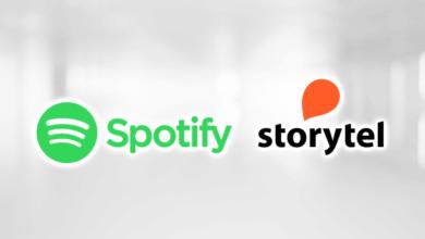 Spotify s'associe avec Storytel pour proposer des livres audios