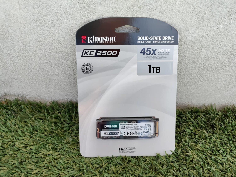 SSD NVME Kingston KC2500