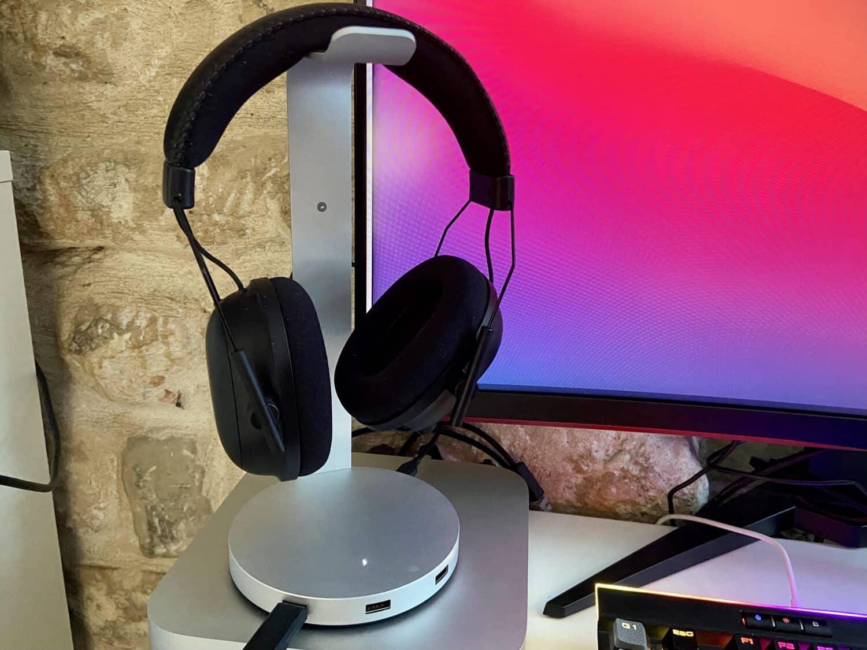 Satechi accessoire mac support casque