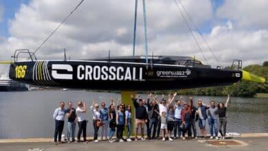crosscall bateau equipe