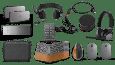 Lenovo présente de nombreux accessoires pour PC, dont un tapis de charge sans fil