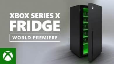 Le mini-frigo Xbox Series X présenté par Microsoft lors de l'E3