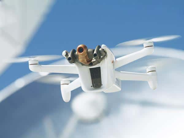 Parrot présente le Anafi AI, un drone connecté en 4G