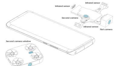vivo smartphone drone integre