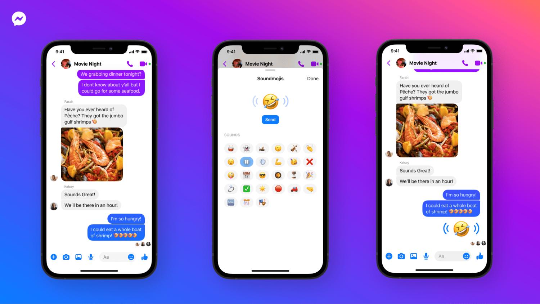 facebook messenger nouveautes emojis