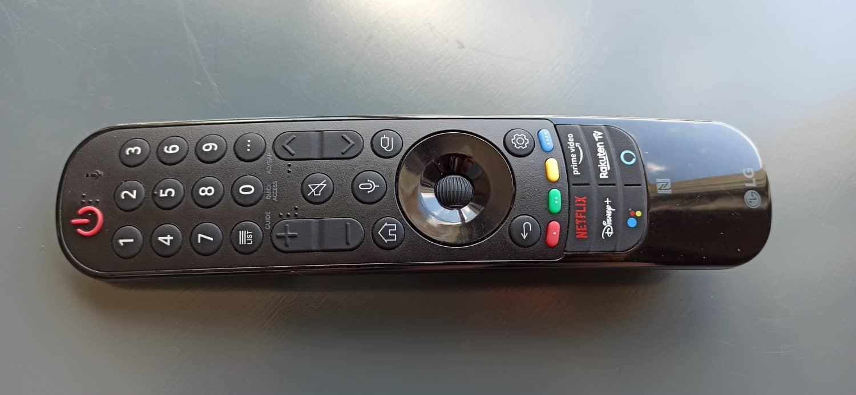 LG 65G1 telecommande basique 2