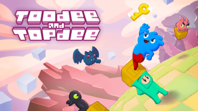 toodee and topdee decouverte jeu independant