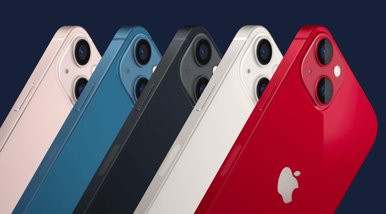 coloris iphone 13 mini