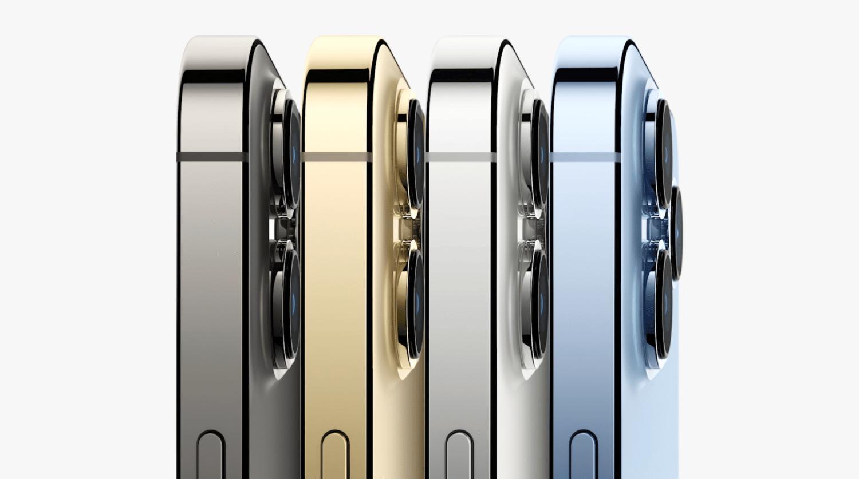 coloris iphone 13 pro