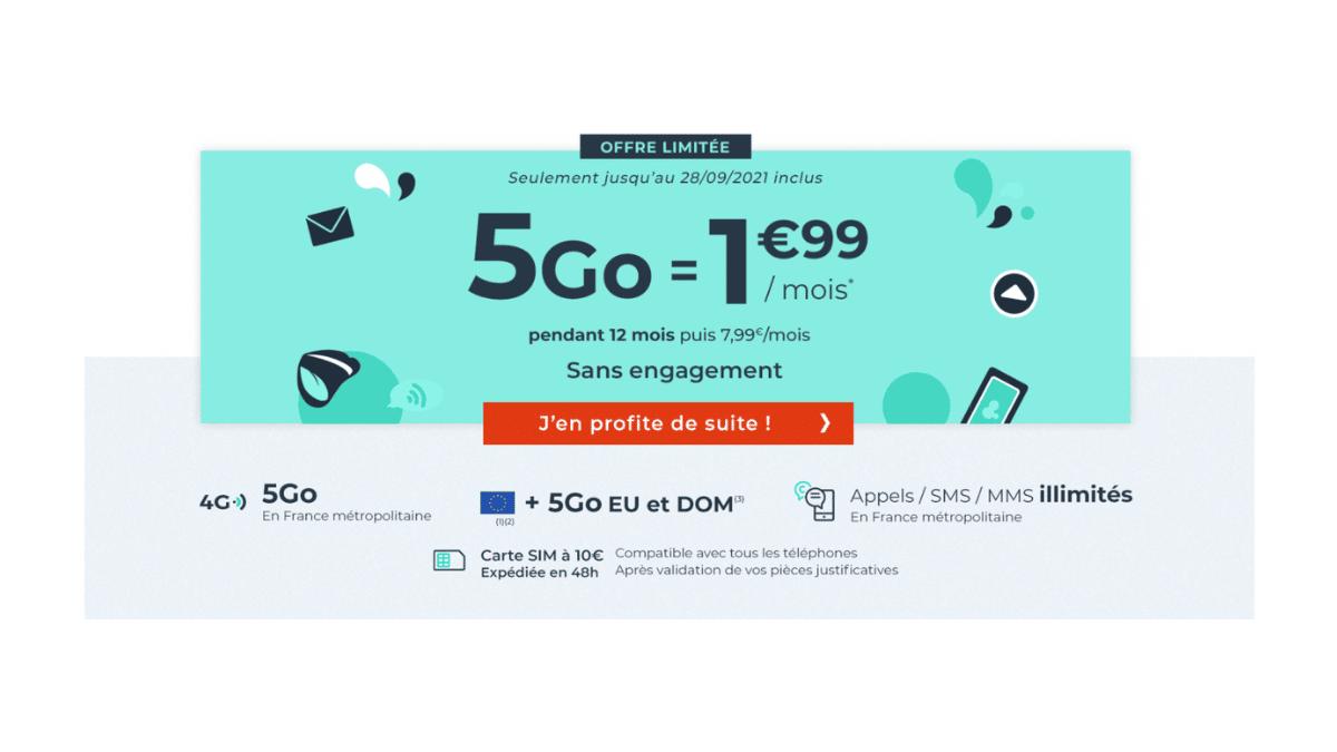 forfait-mobile-5-Go-2-euros-par-mois-cdiscount-septembre-2021