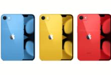 iphone SE 3 design