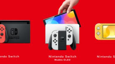 nintendo switch classique nouveau prix