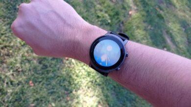 test ticwatch E3 montre connectee